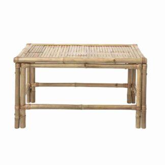 BLOOMINGVILLE Sole sofabord - natur bambustræ, rektangulær