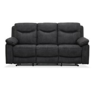Boston recliner 3 personers Biograf sofa, grå stof