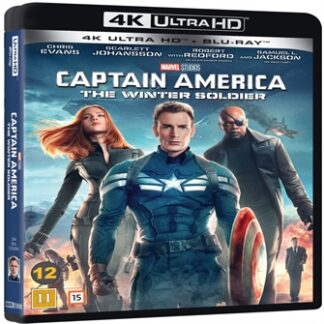 Captain America 2 The Winter Soldier, 4K Ultra HD Blu-Ray