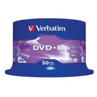 DVD+R 16x 4,7GB spindle, 50 stk.