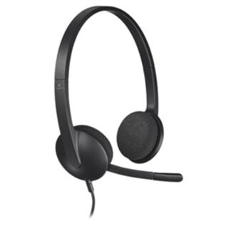 H340 USB Headset, Black