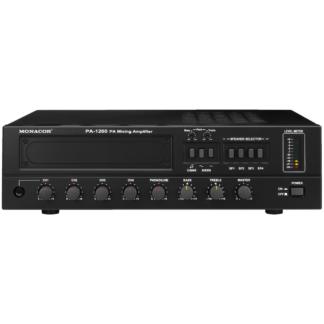 PA-forstærker 120Wrms 4 zoner 100 volt - PA-1200