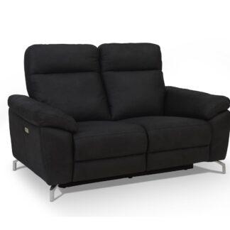 Selesta 2 pers. sofa - sort stof