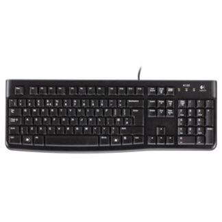 K120 Keyboard, Black (Nordic)