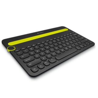 K480 Bluetooth Multi-Device Keyboard, Black (Nordic)