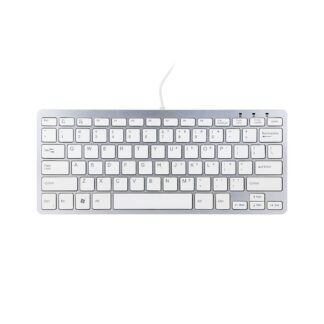 R-Go Compact Keyboard (Nordic) white