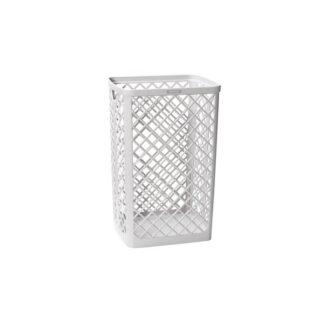 Katrin Waste Bin 40 L, fletkurv til toilet, hvid