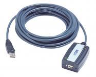 Aktiv Usb 2.0 Forlængerkabel USB A Han - USB A Hun 5 m Grå