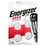 Lithium Knapcelle Batteri Cr2032 3 V 4-Bobler