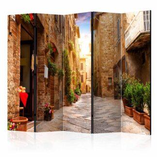 ARTGEIST Colourful Street in Tuscany II rumdeler - multifarvet print (172x225)