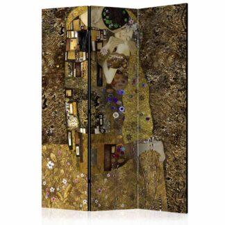 ARTGEIST Golden Kiss rumdeler - multifarvet print (172x135)