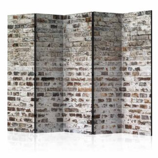 ARTGEIST Old Walls II rumdeler - brun/hvid print (172x225)