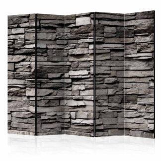 ARTGEIST Stony Facade II rumdeler - grå print (172x225)