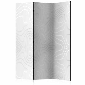 ARTGEIST White waves I rumdeler - hvid print (172x135)