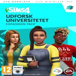 The Sims 4 (EP8) (DA) Udforsk Universitetet