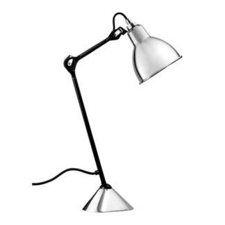 Lampe Gras N205 Bordlampe Mat Sort & Krom