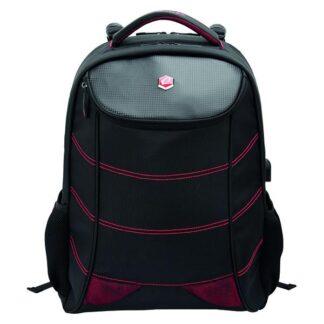 17'' BestLife Gaming Backpack Snake Eye, Black/Red