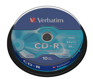 CD-R 700MB/80min 52x spindle (10)