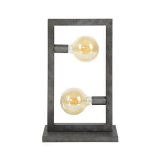 FURBO bordlampe - sølv
