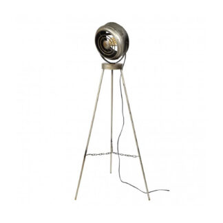 FURBO gulvlampe - sølv