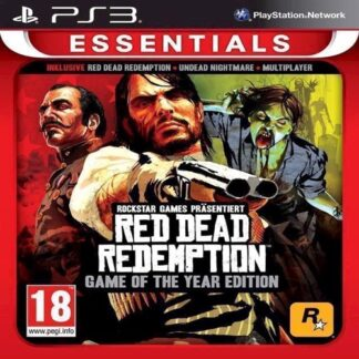 Red Dead Redemption Game Of The Year Essentials - Ps3
