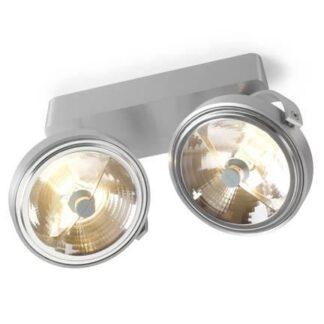Trizo 21 PIN-UP 2 Spot- & Loftslampe Aluminium