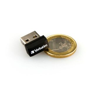 USB 2.0 Store 'N' Stay Nano 32GB, Black