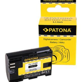 Battery CANON LP-E6 LPE6 EOS R EOS 5D Mark II EOS 7D m. InfoChip