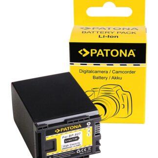 Battery f. CANON BP-827 FS10 FS100 FS11 FS200 FS21 FS21 FS22 iVIS FS10