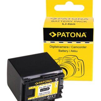 PATONA Battery f. Canon BP-820 Canon HF-G30 Canon XA20 Canon XA2