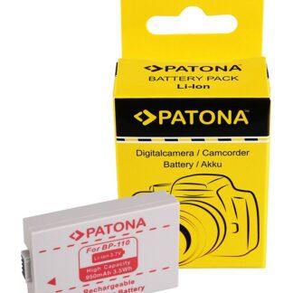 PATONA Battery for Canon BP-110 Canon HF R26 Canon HF 28 Canon HF 206