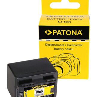 PATONA Battery for Canon BP-727 Canon HF R36 HF38 HF306 HFR46 HF48 HF406