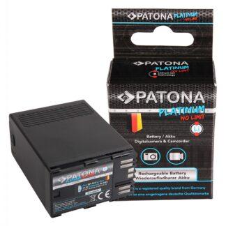 PATONA Platinum Battery f. Canon BP-A65 A60 A30 EOS C200 C300 Mark II XF705 D-Tap USB-Output