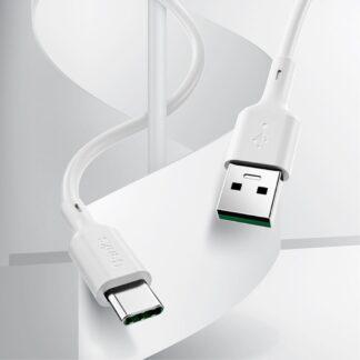 BENKS D35 - Type-C HURTIG oplader kabel 1.2m - Hvid