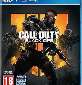 Call of Duty Black Ops 4 - PS4, UK/Arabic