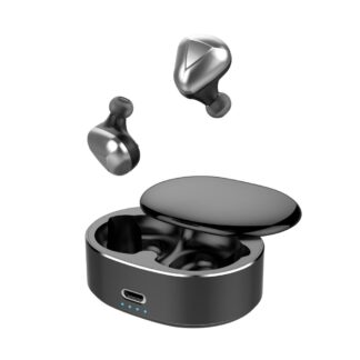 Dynamic 6D - Trådløse Bluetooth Ear-Buds med Touch Funktion & Opladerbox - Sort