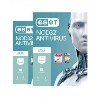 ESET NOD32 Antivirus - 1 enhed / 1 år