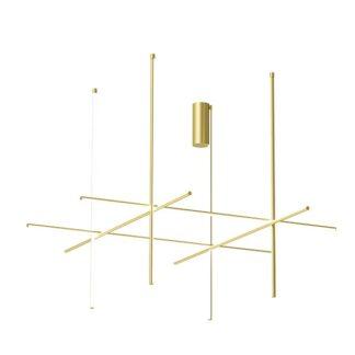 Flos Coordinates C4-L Loftlampe Guld