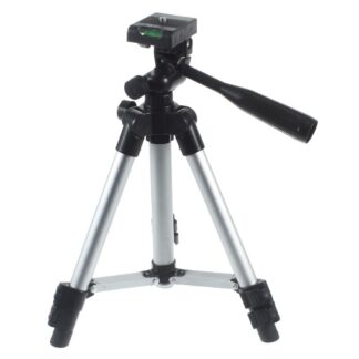 GoPro Hero / Kamera - TriPod justerbar design i Aluminium - Sølv