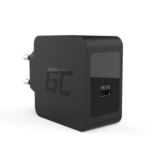 Green Cell - USB-C Type-C strømforsyning hurtig oplader 18W PD - iPad / Tablet / iPhone