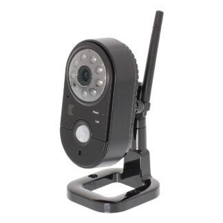 König - 2.4Ghz Trådløst Wifi overvågningskamera VGA - Indendørs - Sort