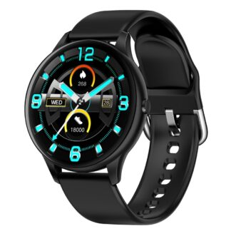 LEMONDA K21 - Bluetooth V5.0 smartwatch - Vandtæt - Puls - Blodtryk - Tracker- Sportsmode - Sort