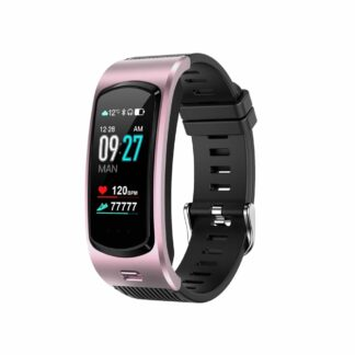 LEMONDA M6 - Bluetooth smartwatch med Indbygget Headset - Puls - Blodtryk - Helse tracker - Besvar/afslut opkald - Rosa guld