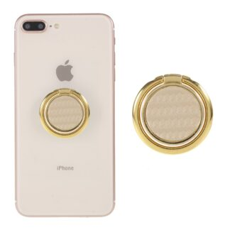 LGD Fiberglas Design - Finger grip holder til iphone / Smartphones - Guld