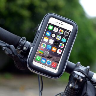 LXH-032 smartphone cykelholder - Sort