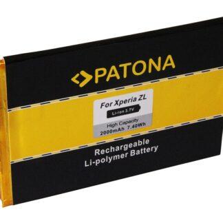PATONA Battery f. Sony Ericsson Xperia C6502 C6503 C6506 L35h ZL LIS1501ERPC