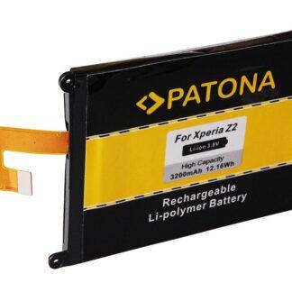 PATONA Battery f. Sony Ericsson Xperia D6502 D6503 D6543 L50W LT50w Z2 LIS1