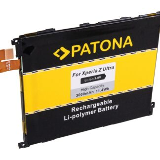 PATONA Battery f. Sony Ericsson Xperia XL39 Z Ultra LIS1520ERPC