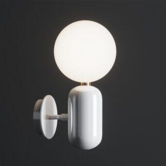 Parachilna Aballs Væg- og Loftlampe Lille Hvid