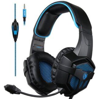 SADES 807 - Gaming Høretelefoner - Surround Sound 7.1 - Laptop/PS4/Xbox/PC - 3.5mm kabel - 1.5mm